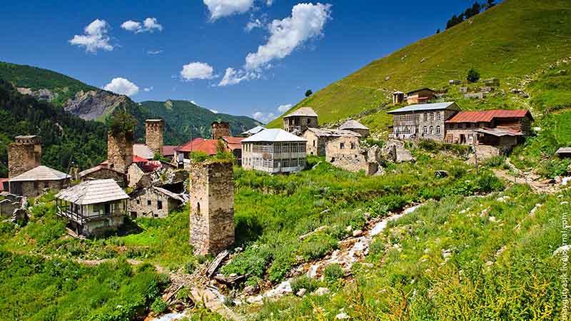 تور سوانتی گرجستان