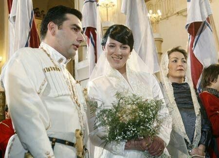 عروسی در گرجستان