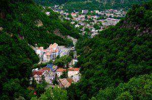 شهر بورجومی گرجستان