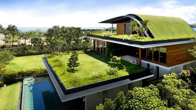 خانه سبز در گرجستان