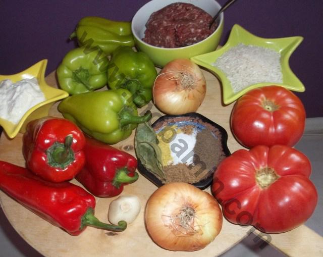 مواد دلمه از غذاهای گرجستان