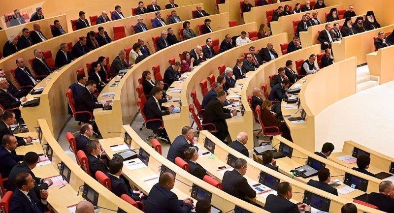 رأی اعتماد پارلمان گرجستان به هیأت دولت جدید این کشور