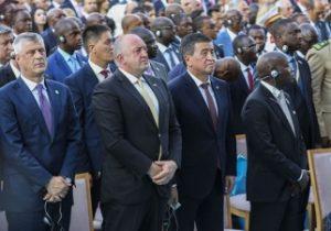 رئیس جمهور مارگولاشویلی کشور را برای نشست ناتو در بروکسل ترک کرد
