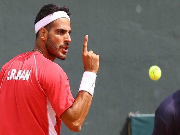 صعود شاهین خالدان به مرحله نیمه نهایی رقابت های بین المللی تنیس فیوچرز