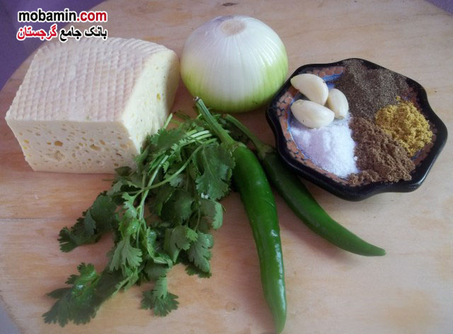 طرز تهیه ی لوبیا و پنیر امرتی