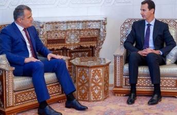 امضای توافقنامه های همکاری مابین سوریه و مناطق اشغالی تسخینوالی