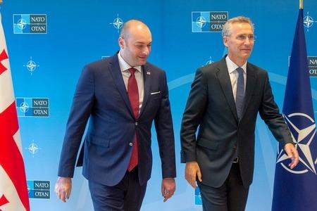 دبیر کل ناتو، از افزایش همکاری میان گرجستان و ناتو خبر داد
