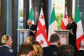رئیس جمهور ایتالیا گرجستان را قابل اعتماد توصیف می کند