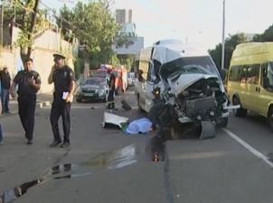 دو زخمی و یک کشته در اثر تصادف در خیابان گلوانی تفلیس