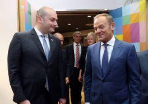 دونالد توسک بیان داشت: اتحادیه اروپا همچنان حامی اصلاحات موفق در گرجستان است