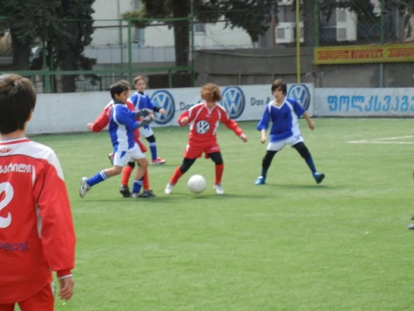 مدرسه فوتبال در گرجستان