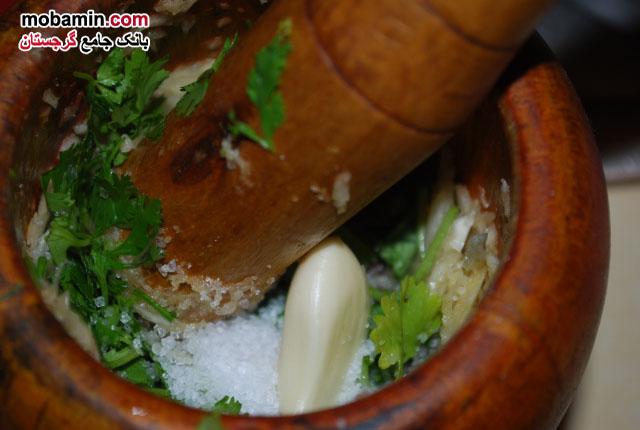 طرز تهیه ی سوپ سرد ماتسونی از غذا های گرجستان