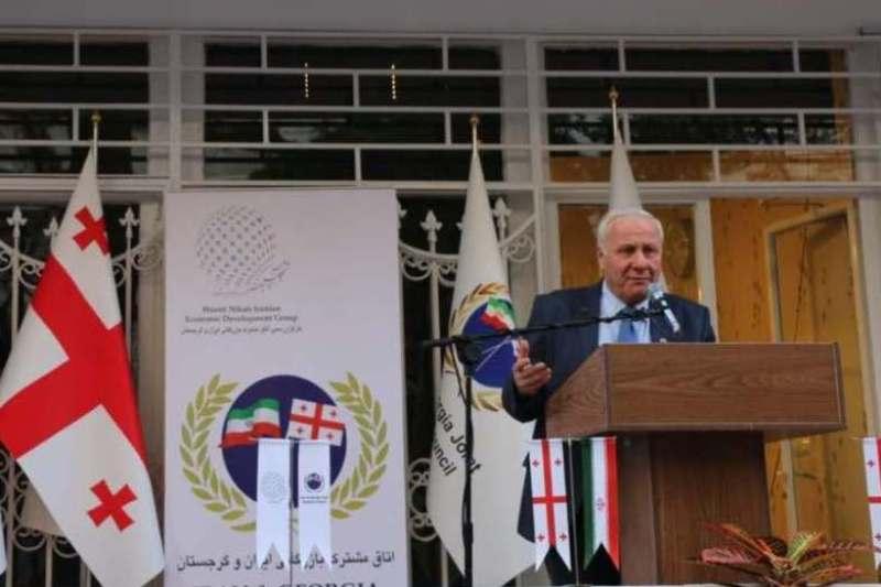 سفیر گرجستان از آغاز همکاری اقتصادی با ایران سخن گفت