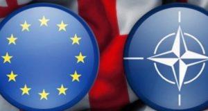 حمایت مردم گرجستان از پیوستن کشور به اتحادیه اروپا و ناتو