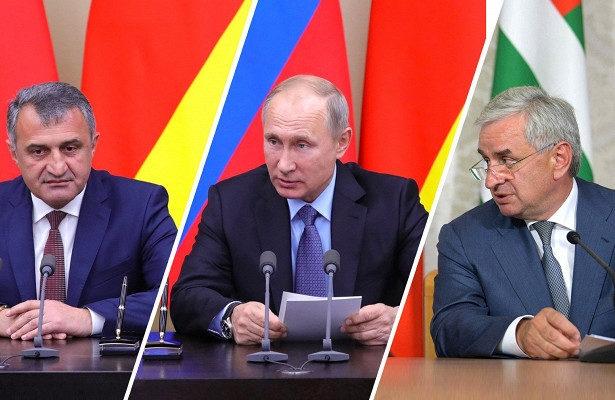 سران آبخازیا و اوستیای جنوبی به روسیه دعوت شدند