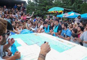 جشنواره بستنی د ر پارک تاسمیندا تفلیس