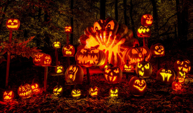 فستیوال هالووین در تفلیس