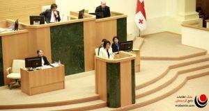 رئیس جمهور گرجستان زورابیشویلی
