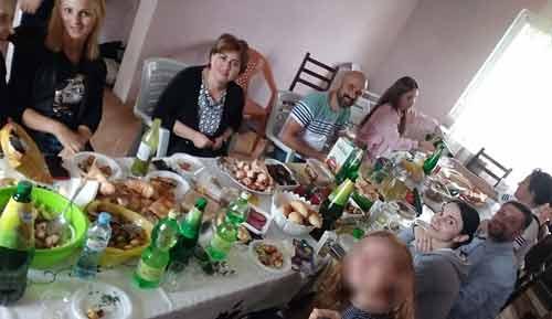 میز غذاهای گرجی