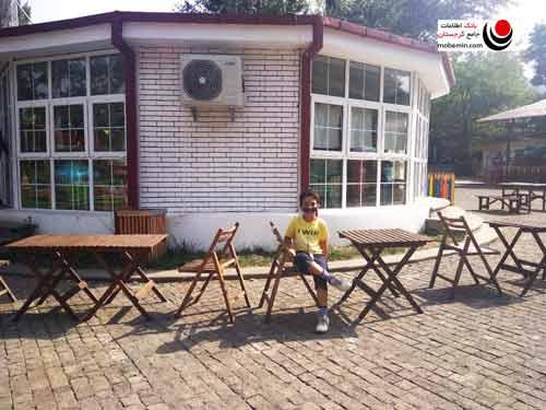 کافی شاپ در پارک واکه