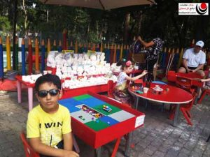 سرگرمی کودکان در پارک واکه