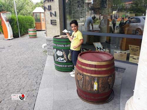 کارخانه شراب سازی در متسختا